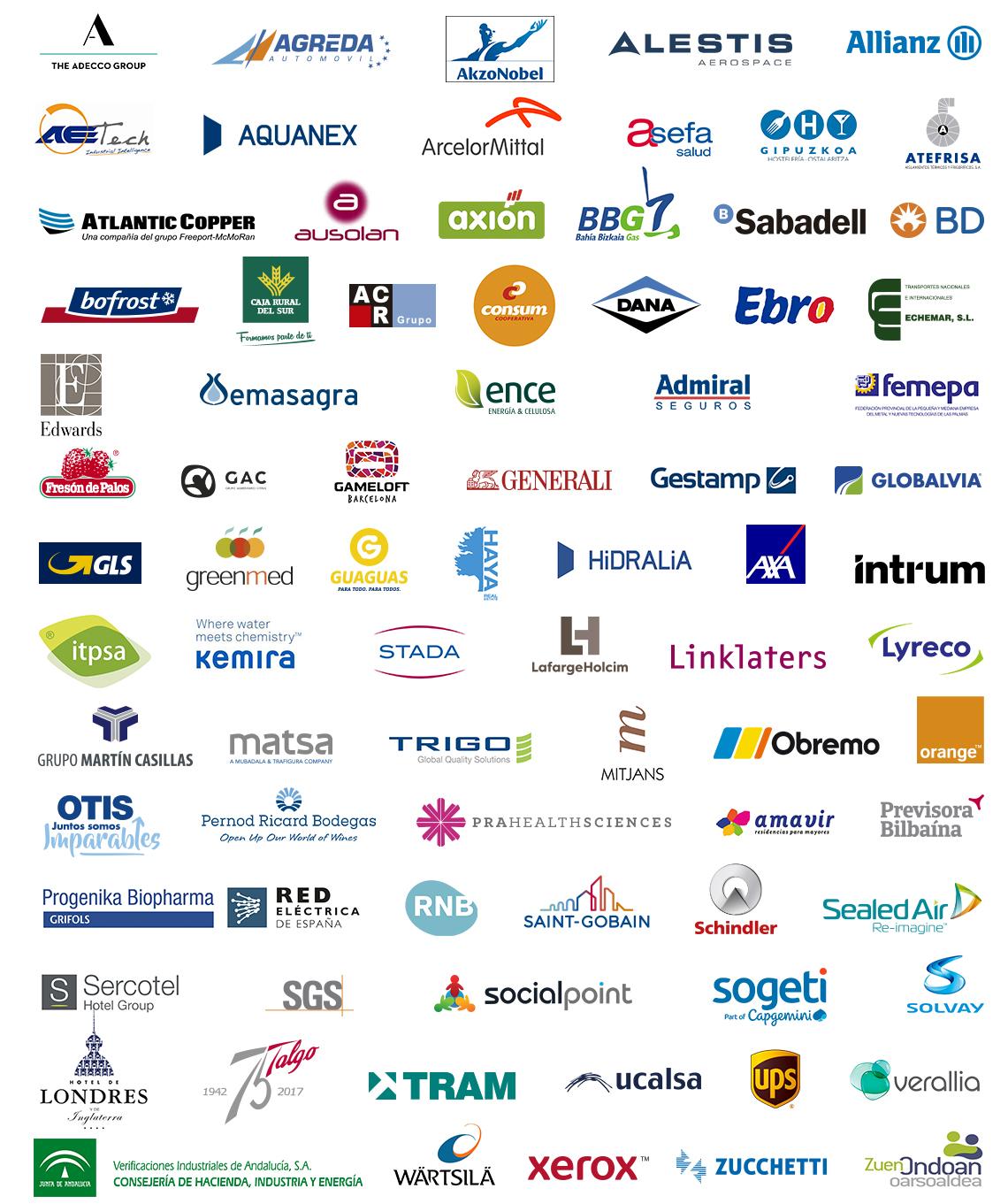 Empresas que apoyan la campaña